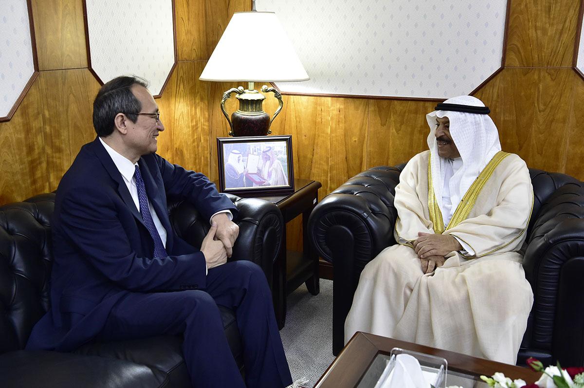 3fc184951 مجلس الشورى - رئيس مجلس الشورى: مملكة البحرين تحرص على تعزيز واستثمار  علاقاتها مع جمهورية الصين لتحقيق المصالح المشتركة