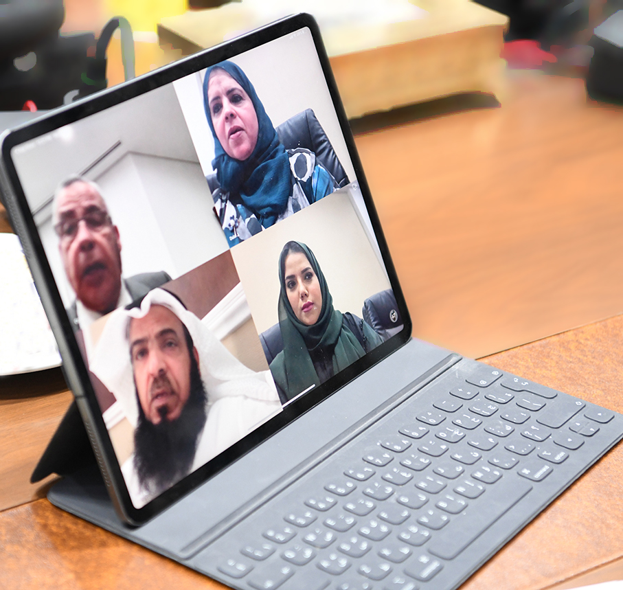 "In scope of Implementing precautionary measures... "" Shura's Legislative Committee is the first legislative committee to hold its meetings remotely"""