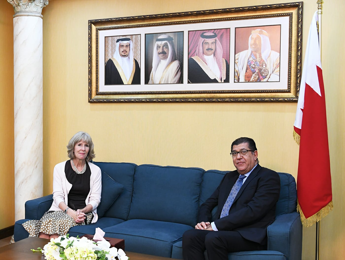 Shura First Deputy Chairman receives US Chief of Mission