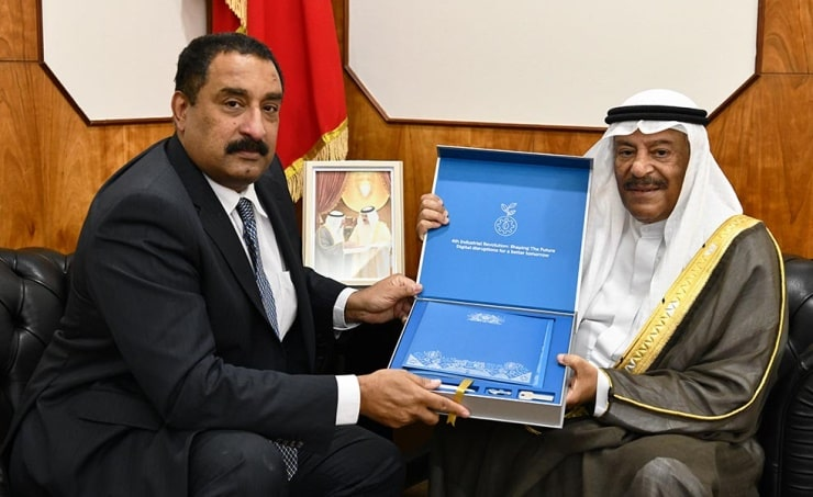 Shura Chairman receives UN official