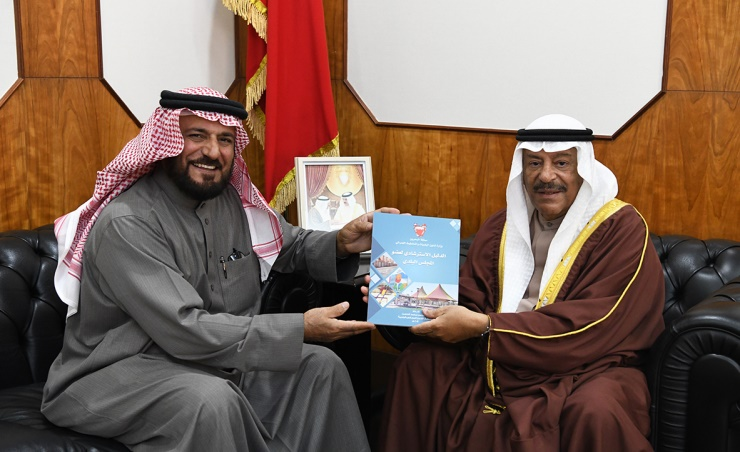Shura Chairman receives former municipal Councillor