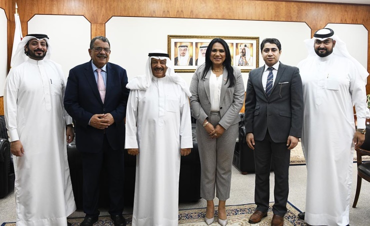 Shura Chairman receives BBS Board Chairman, members