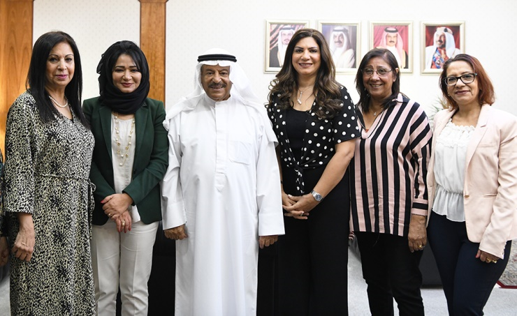 Bahraini women's progress praised