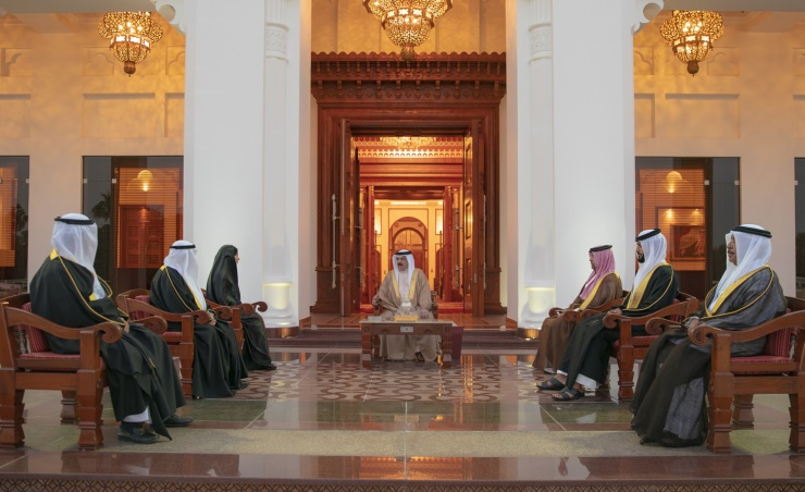HM King receives Speaker, Shura Chairman, Supreme Judicial Council Deputy Chairman