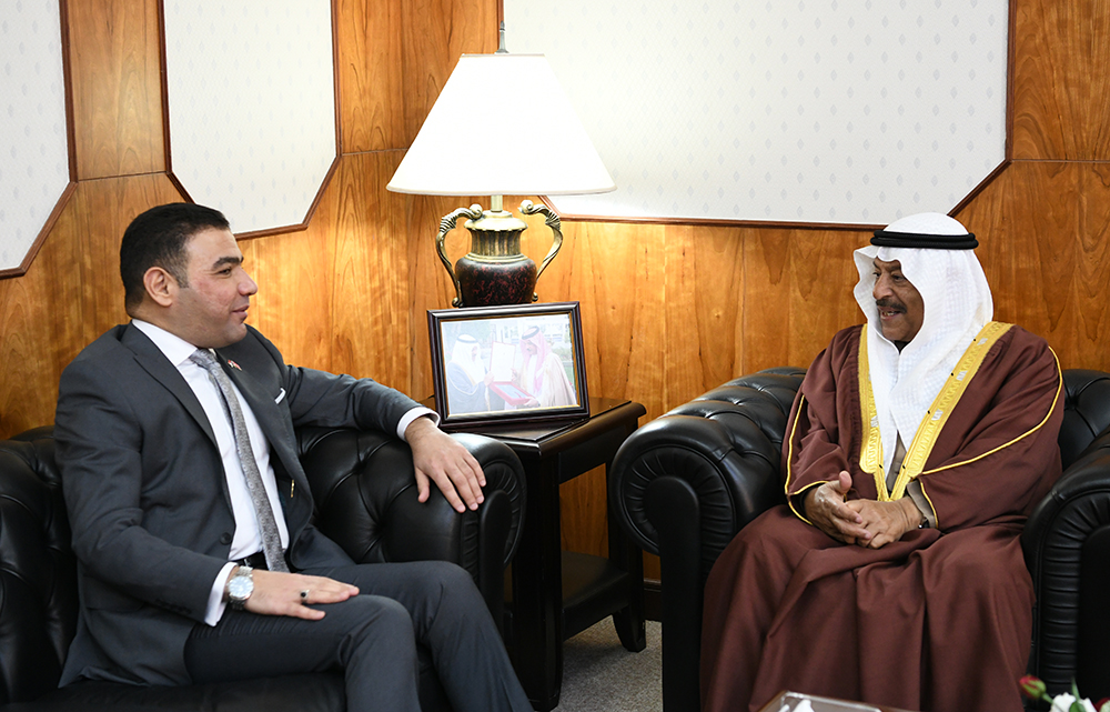 Shura Chairman receives Iraqi chargé d'affaires