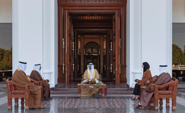 HM King receives Shura and Representatives Councils Chairpersons