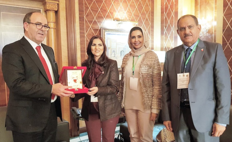 Shura delegation meets Morocco's House of Councillors' president